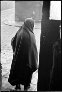 Woman wearing a Shawl by Humphrey Spender | Bolton Worktown