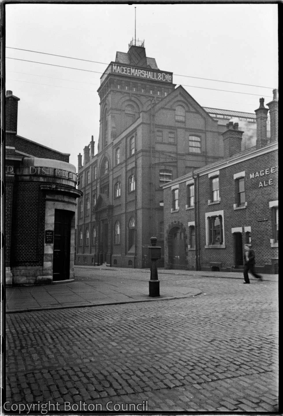 Crown Brewery and Pub by Humphrey Spender  Bolton Worktown