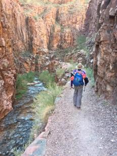 这里的景观有些像梅里雪山的尼农峡谷