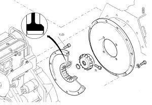 Запчасти BOMAG муфта привода гидронасоса (гидромотора)