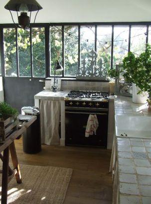 Faire la cuisine dans un écrin de verdure, la détente absolue !