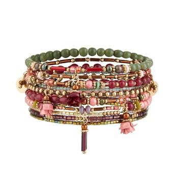 Lot de 10 bracelets élastique Accessorize 9,90 euros