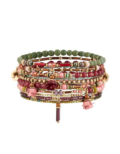 Lot de 10 bracelets élastique Accessorize 9,90 euros