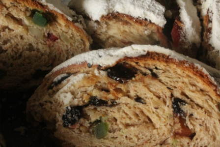 Swedish Christmas Bread.A Swedish Christmas Bread Stollen Bombay Chowparty