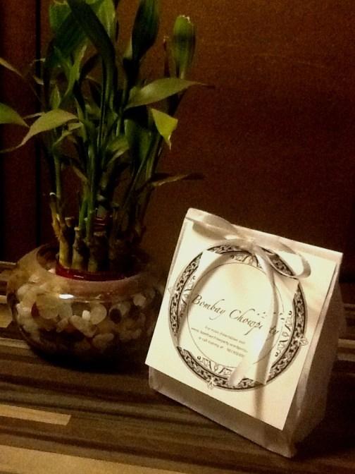 Bombay Chowparty's Mini Truffle Bags