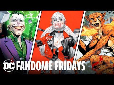 Encounter the DC Super Villains | DC FanDome Fridays