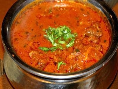 Goat Vindaloo Bombay Grill