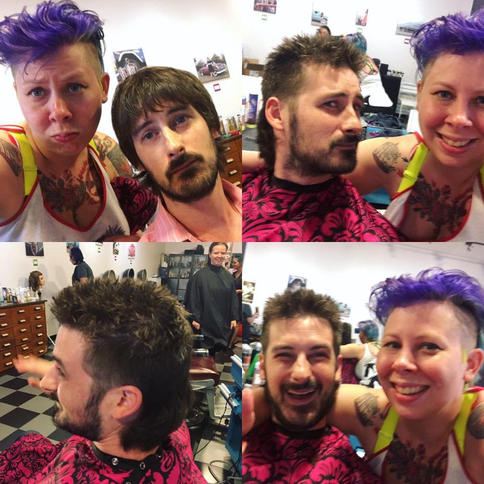 Clean him up at Bombshell Hairshop