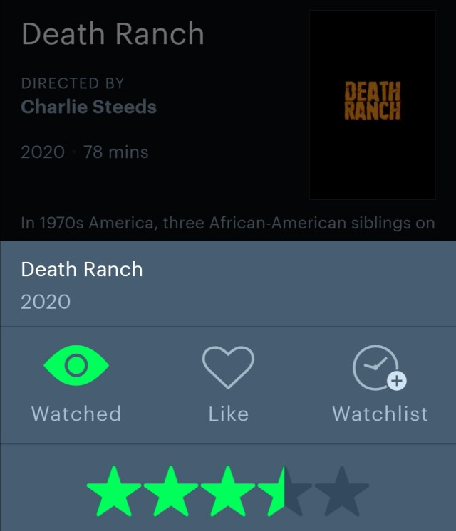 Death Ranch Letterboxd