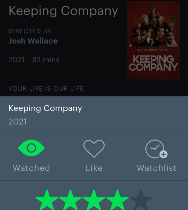 Keeping Company 2021