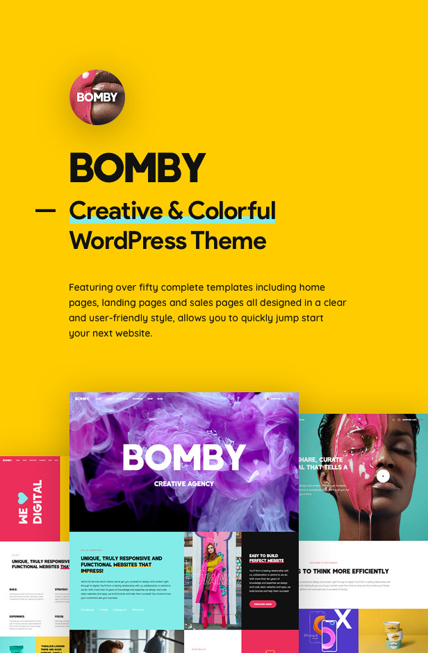 Bomby WordPress Theme