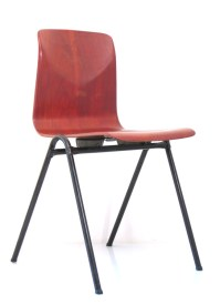 plywood chairs stackable retro