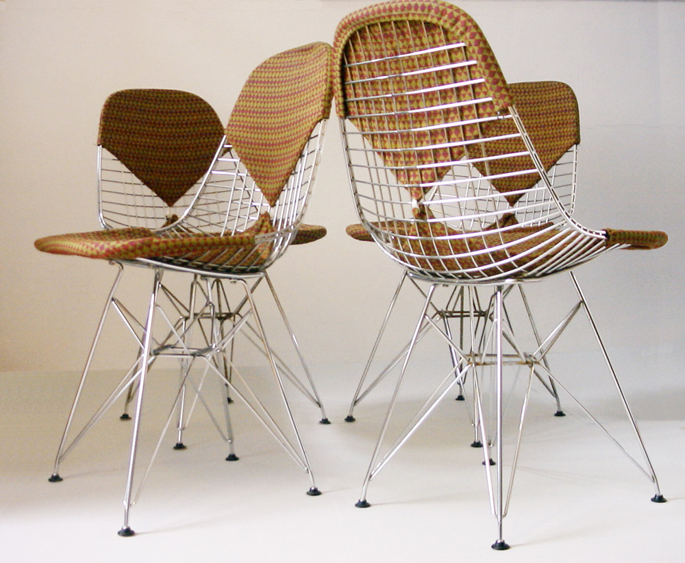 Charles and Ray Eames fifties vintage DKR