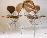 Charles and Ray Eames fifties vintage DKR-2 chair