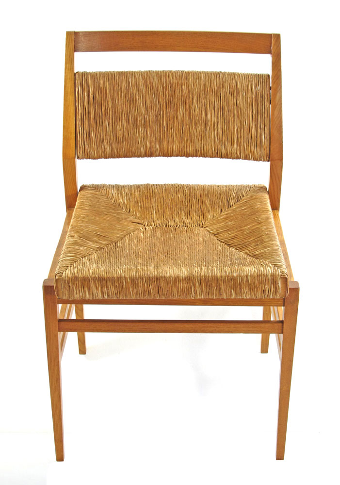 Gio Ponti Leggera style wooden chairs 60s vintage  Bom