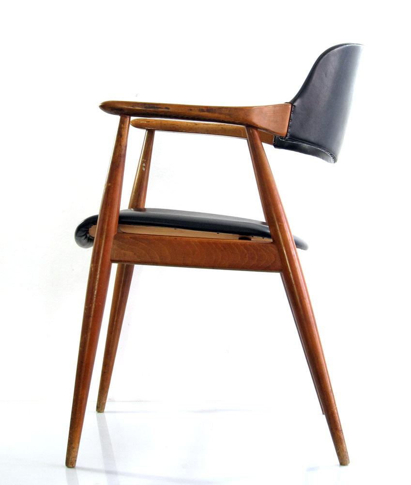 Finn Juhl Erik Kirkegaard style vintage Danish chair