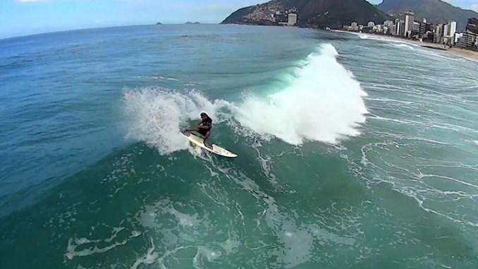 E a Praia de Ipanema não é exceção à regra.