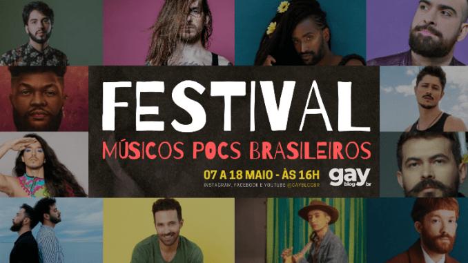 Festival de MPB estreia com line-up formado só por cantores gays