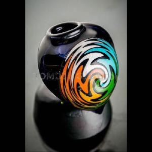 14mm black raindrop bowl