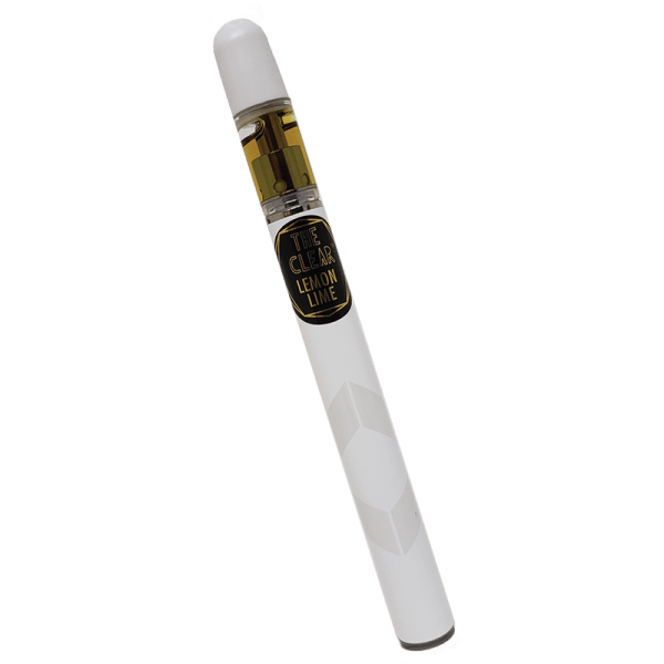 The Clear CBD Disposable CCell 500 MG Lemon Lime