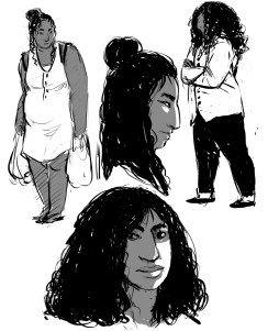 character bw sketches1