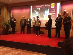 Ruben récompensé par le Conseil Général pour sa victoire en coupe de France