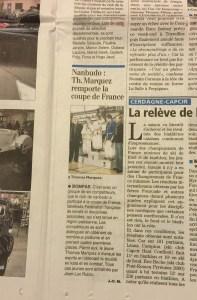Indépendant Bompas : Thomas Marquez remporte la coupe de France