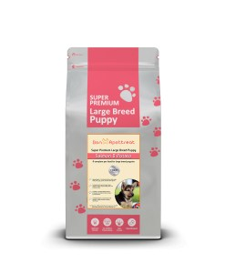 Large Breed Salmon Puppy Food