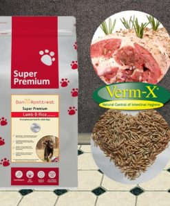 Super Premium Lamb & Rice with Verm X