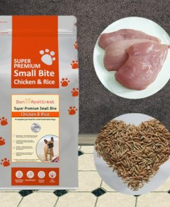 small bite chicken dog food