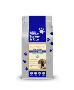 Super Premium Turkey Dog Food Turkey & Rice