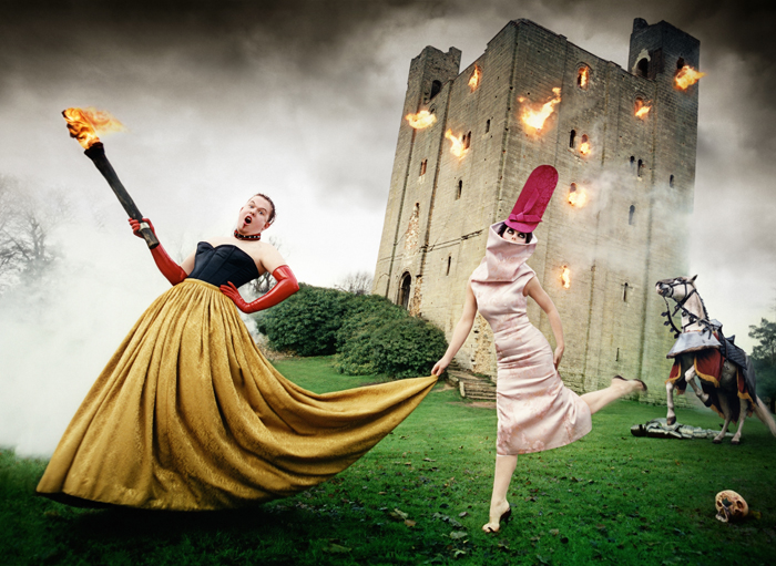 3. Alexander McQueen and Isabella Blow, 1996 (c) David LaChapelle Studio Inc