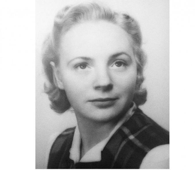 Anna-Lisa Edlund, 17 år gammal, 1938.