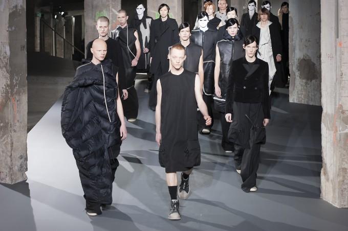 Paris Man Fashion Week Autumn Winter 2016-2017 RICK OWENS