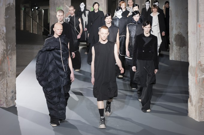 Paris Man Fashion Week Autumn Winter 2016-2017 RICK OWENS
