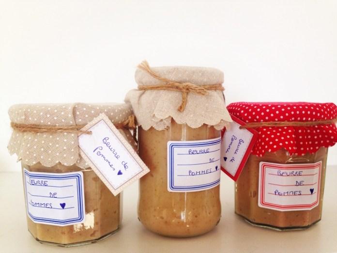 Les cadeaux qu'on fabrique / le beurre de pommes