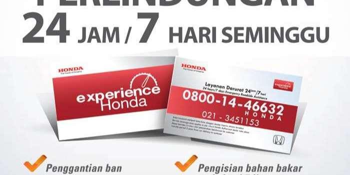 Honda Experience : Layanan Bantuan Darurat Mobil Honda