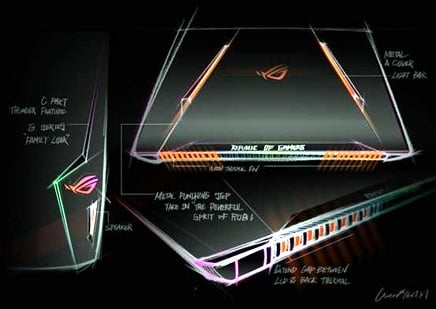 Netbook Gahar : Asus Republik of Gamer GL502VS