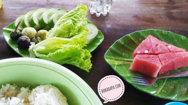 Aneka buah dan sayur