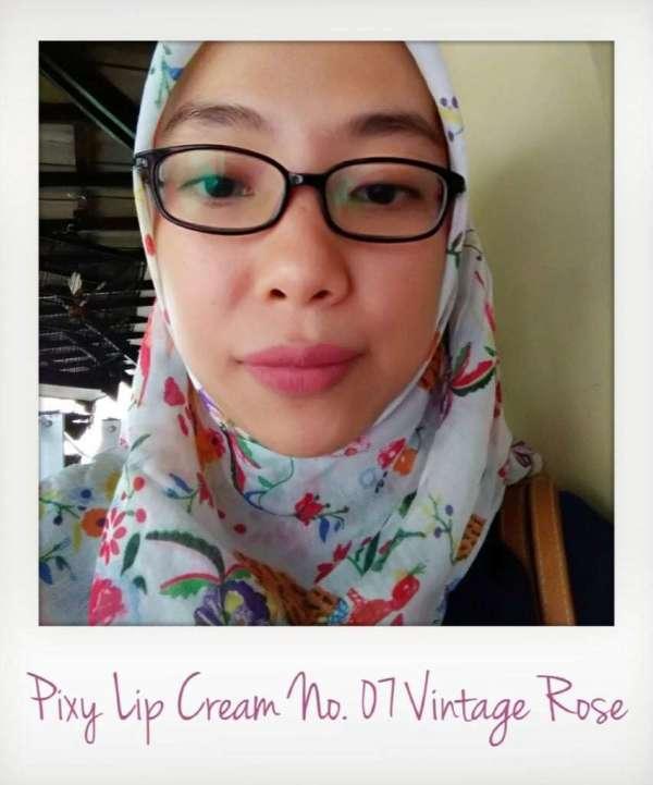 Pixy Lip Cream No.07 Vintage Rose