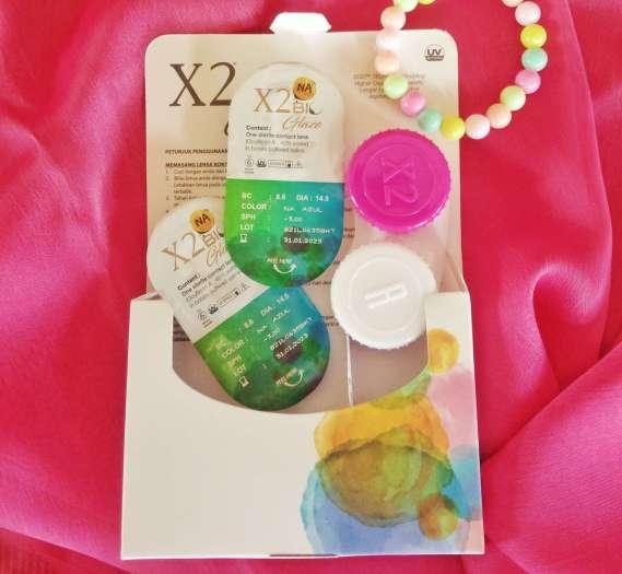Review Softlens X2 Bio Glaze Na Azul - INNOVAMEI