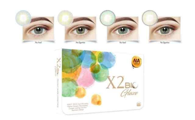 Review X2 Bio Glaze Na Azul dan Nu Quartzo