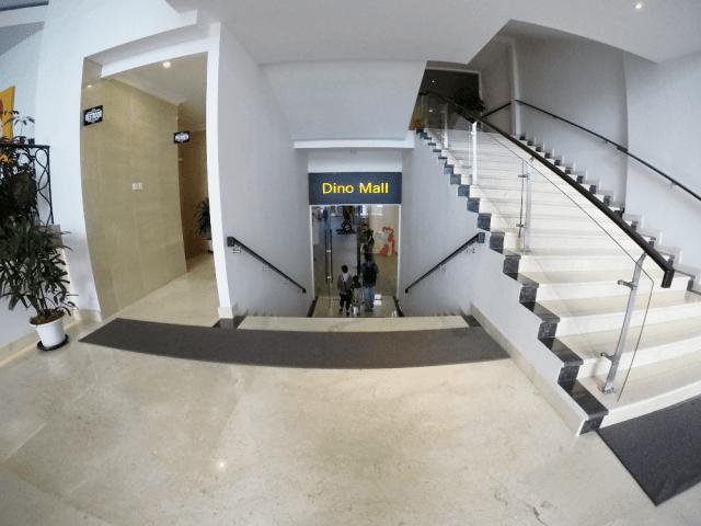 Akses ke Dino Hotel Senyum World Batu Malang