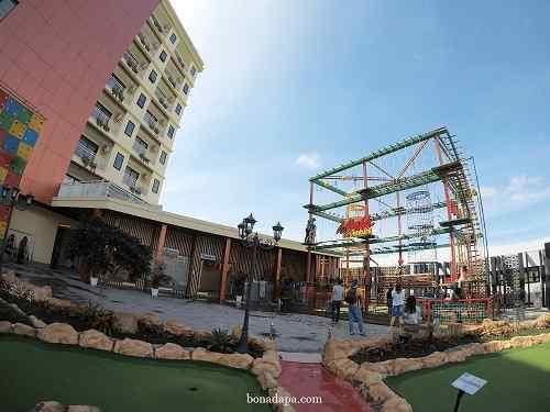 Mini Outbond hotel senyum world Batu Malang