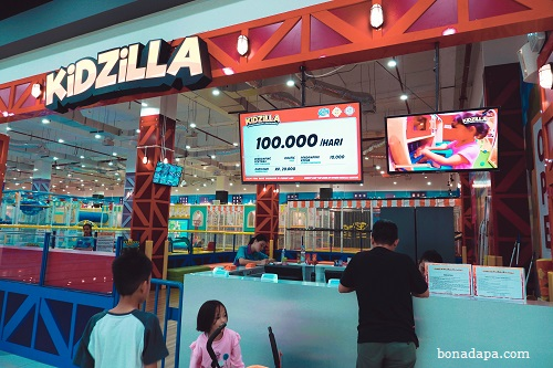 Kidzilla Palembang Trade Center