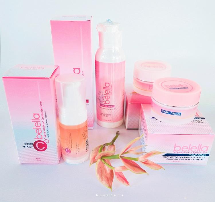 Review Skincare Anti Aging Belella Cosmetics.