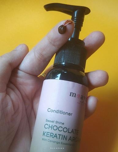 Conditioner cokelat Moayu