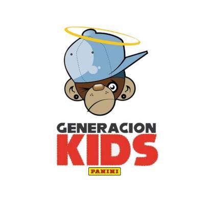 generacion kids logo panini
