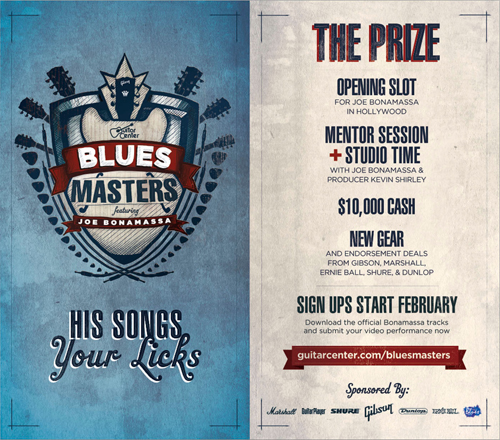 Joe bonamassa guitar center blues masters 1