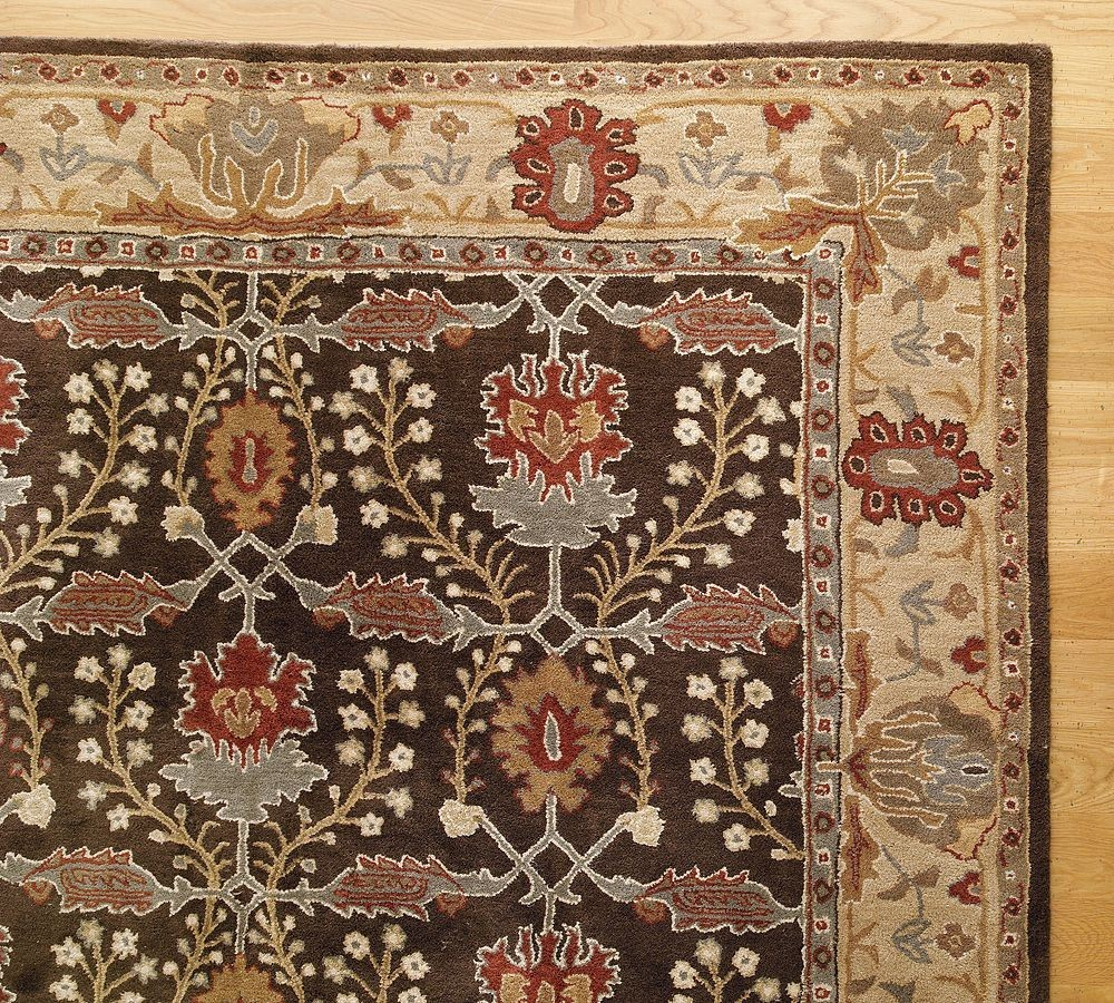 New Pottery Barn Handmade Persian BRANDON Area Rug 9X12  Rugs  Carpets